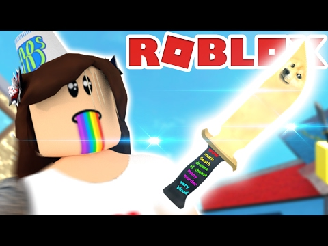 Roblox | GETTING THE EPIC DOGE KNIFE | Let's Play Murder Mystery 2!