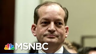 Labor Secretary Alex Acosta Under Fire - The Day That Was | MSNBC