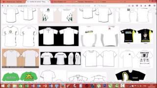 Criando Modelo de Camisas no Corel Draw X7 + Photoshop CS6