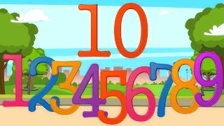Ten Little Numbers | Learning Videos For Babies | Preschool Rhymes