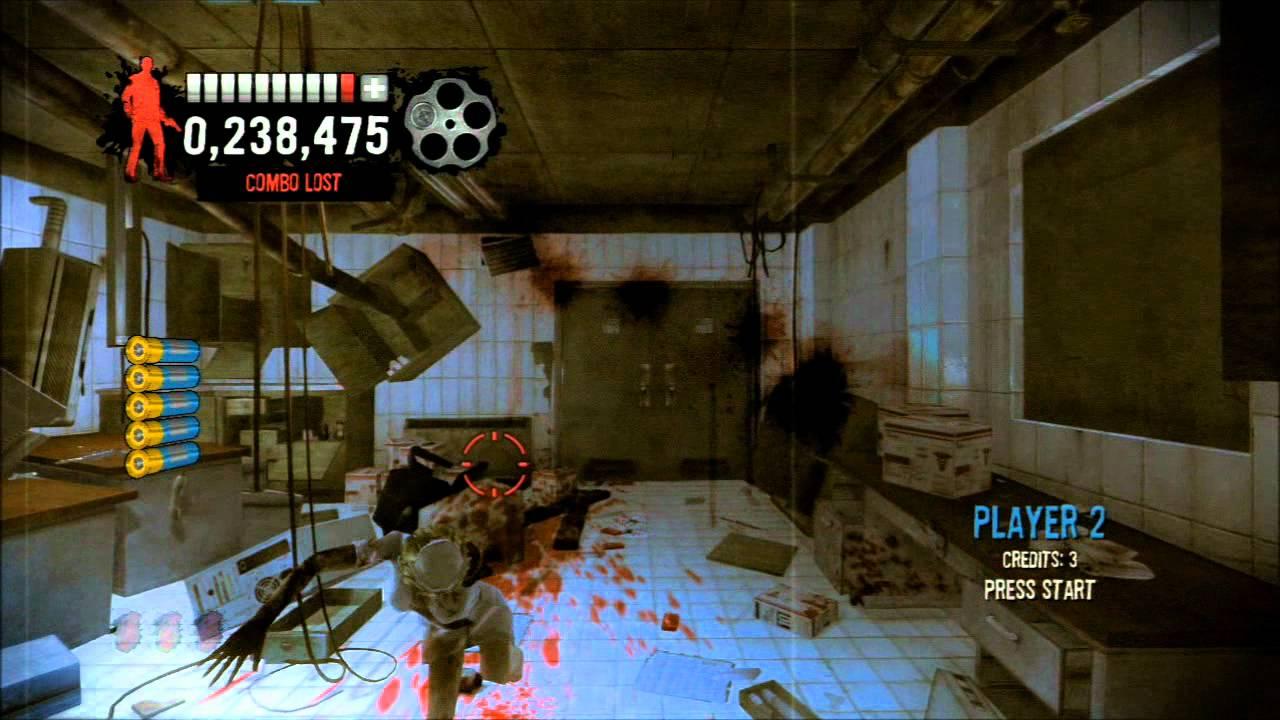 House Of The Dead Overkill Extended Cut 006 Ballistic Trauma 2 Of 2 Youtube