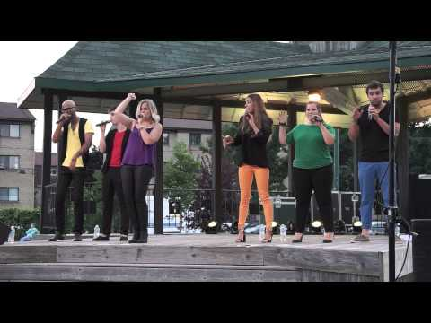 I Feel Good (a cappella by The Rainbows)