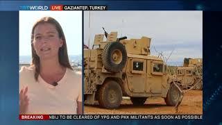 Turkish forces start duties in Syria