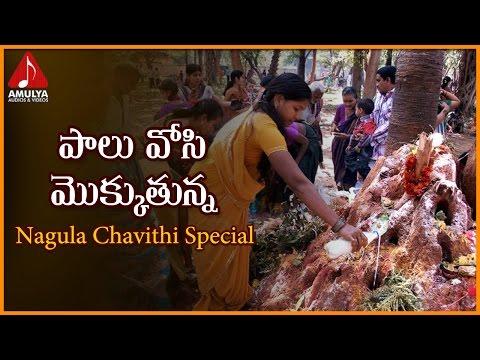 Nagula Chavithi Special Devotional Songs   Palu Vosi Mokkutunna Naganna Telangana Folk Song
