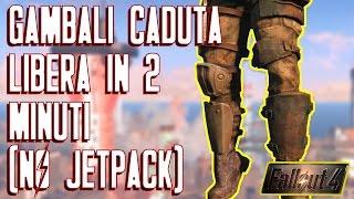Fallout 4 - L armatura pi RARA del Gioco - Gambali Caduta Libera in 2 Minuti NO JETPACK