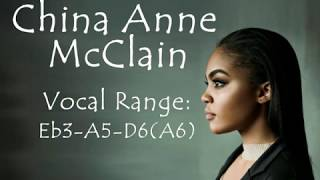 China Anne McClain Vocal Range 2018: Eb3 - A5 - D6(A6)