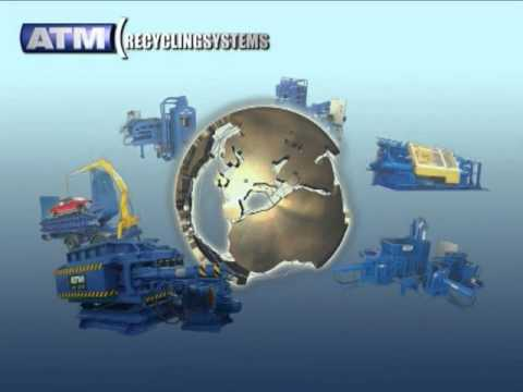 ATM Recycling Systems Metal Processing Equipment