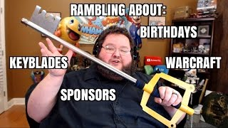 Rambling About: Birthdays, Warcraft, Anime, and Sponsors