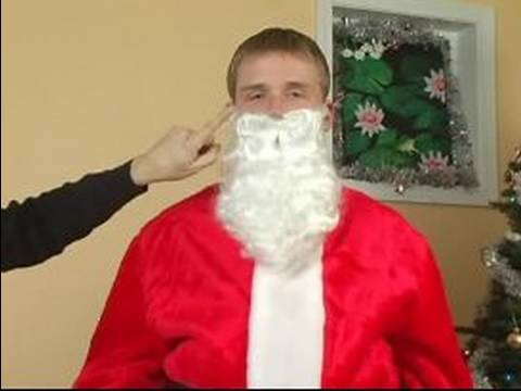 How to make a santa claus costume how to add a beard to a santa how to make a santa claus costume how to add a beard to a santa costume youtube solutioingenieria Images