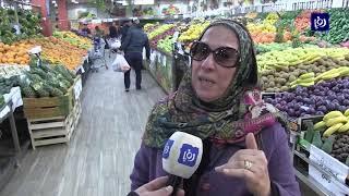 شكاوى من ارتفاع أسعار بعض المواد الغذائية خلال المنخفضات الجوية (21/1/2020)