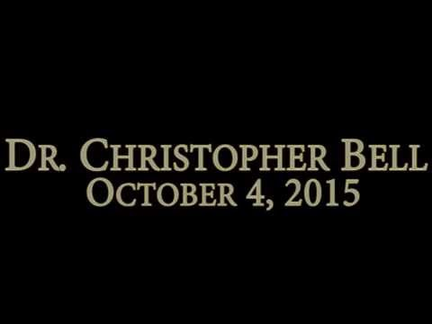 "Dr. Christopher Bell  ""What Confucius Said""  October 4, 2015"