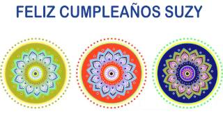 Suzy   Indian Designs - Happy Birthday