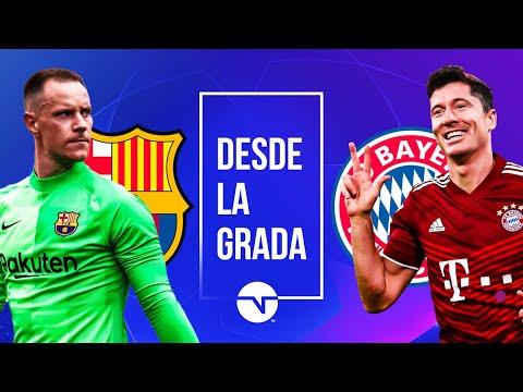¡BARCELONA VS BAYERN DE MÚNICH! ¡NARRACIÓN EN VIVO! CHAMPIONS LEAGUE FASE DE GRUPOS