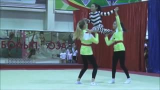 """""""ЧИПОЛЛИНО"""". Акробатик шоу-балет """"MODES"""" (Алматы)."""