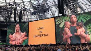 OTR II TOUR - LONDON / APES**T VISUAL & EVERYTHING IS LOVE ALBUM REVEAL
