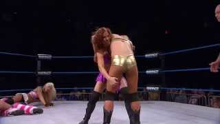 Madison Rayne and Taryn Terrell vs The Beautiful People (Oct. 29, 2014)