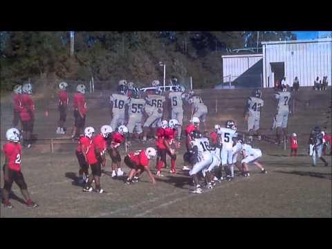 2012 Colts Pee Wees vs Philadelphia Tornadoes