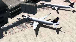 [FSX] Air Traffic at Frankfurt/Main Airport with Ultimate Traffic 2/WoAI [1080p HD]