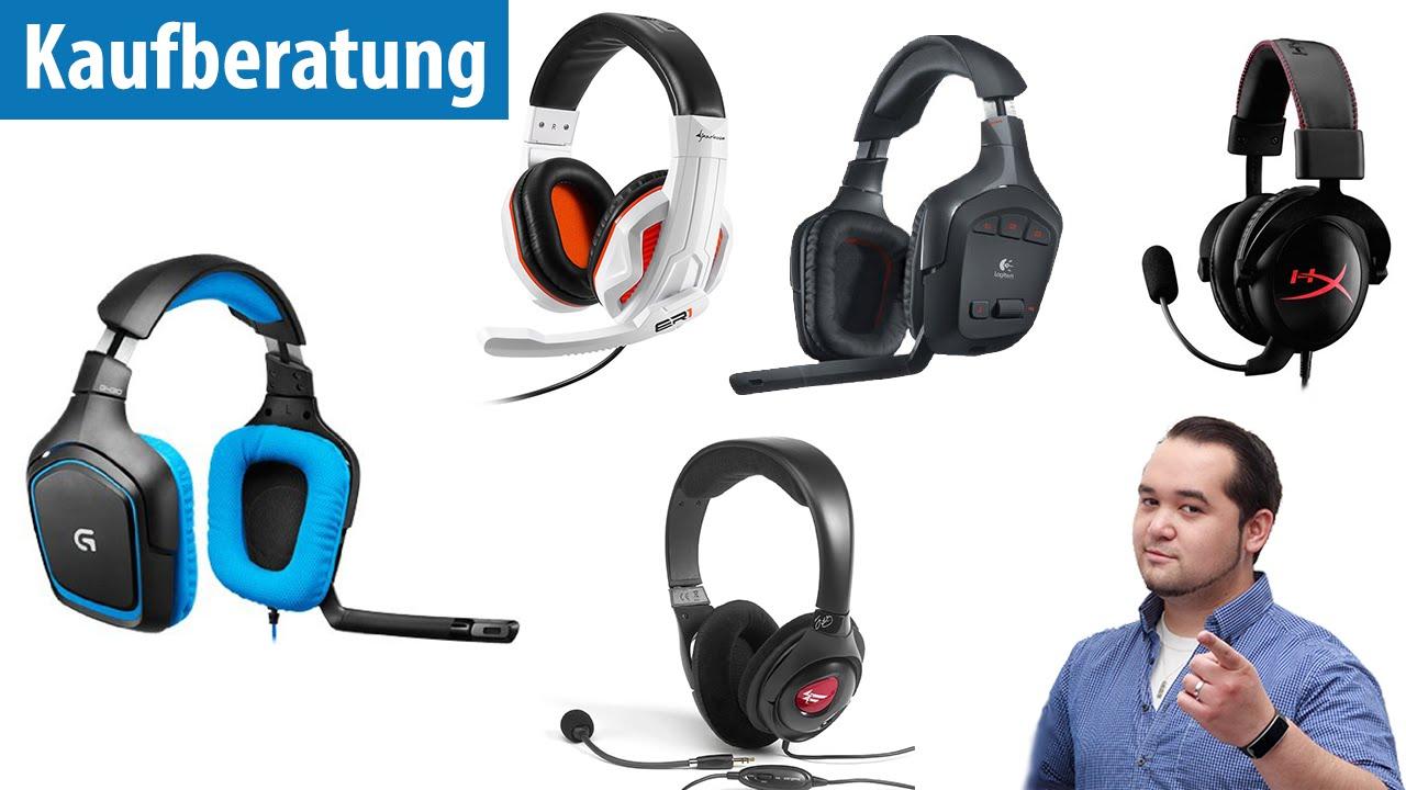 die 5 beliebtesten gaming headsets im test deutsch german youtube. Black Bedroom Furniture Sets. Home Design Ideas