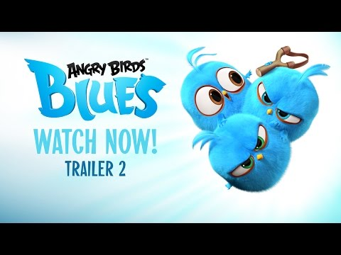 Angry birds blues dvd
