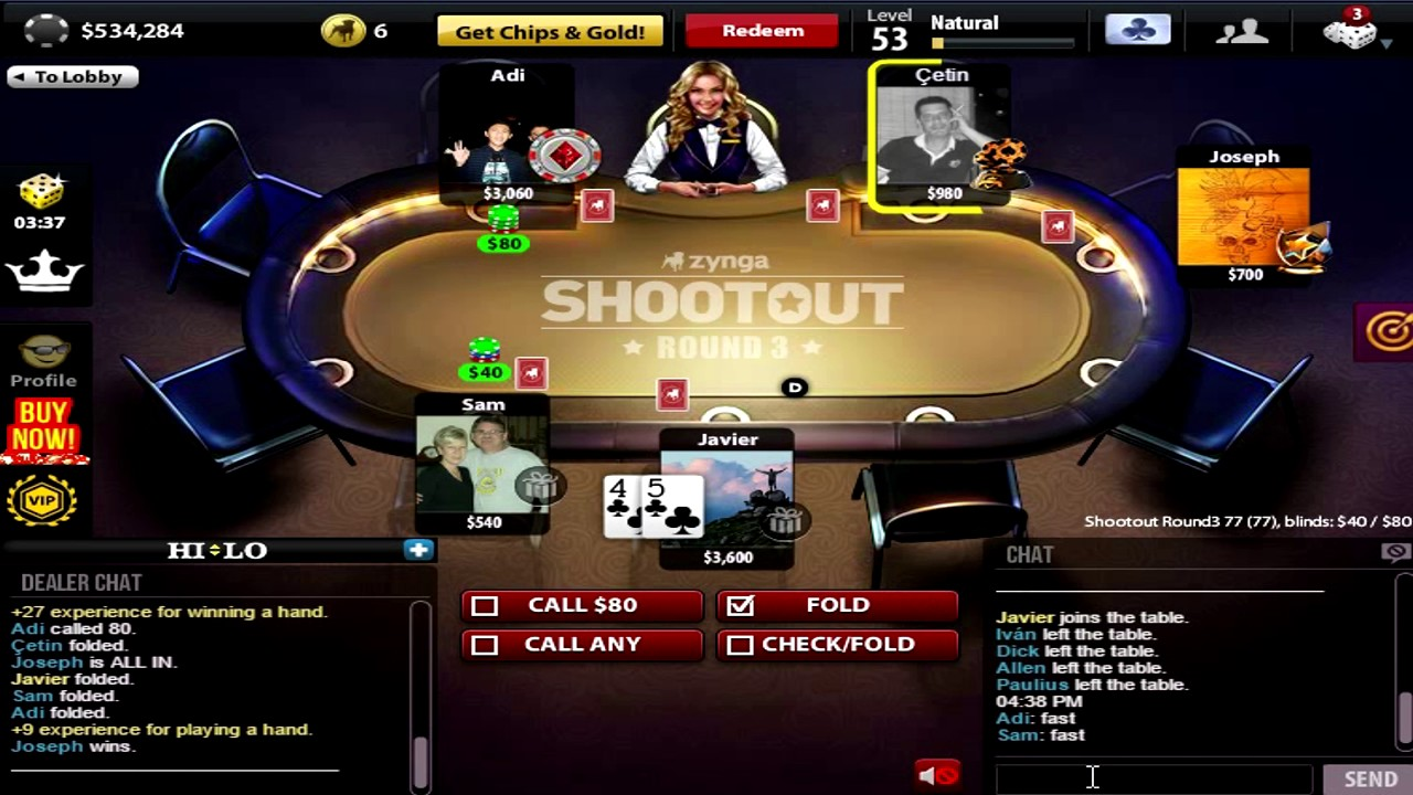 Final poker scene rounders