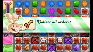 Candy Crush Saga Level 807 walkthrough (no boosters)