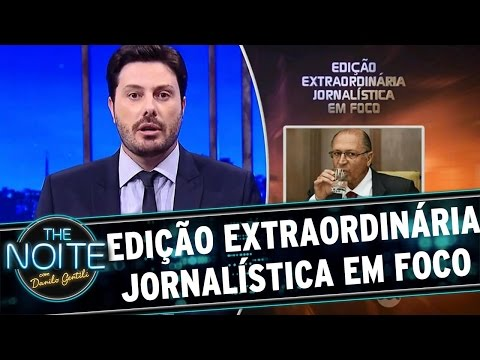 The Noite (04/05/16) - Edição Extraordinária Jornalística em Foco