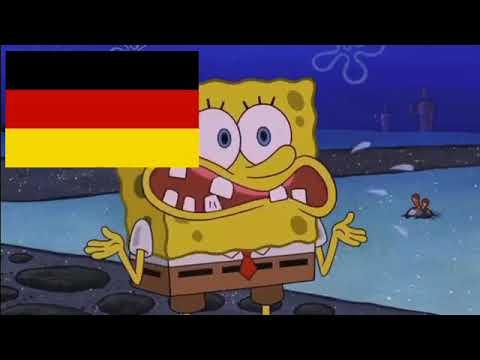 European Countries portrayed by Spongebob