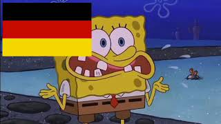 European Countries portrayed by Spongebob