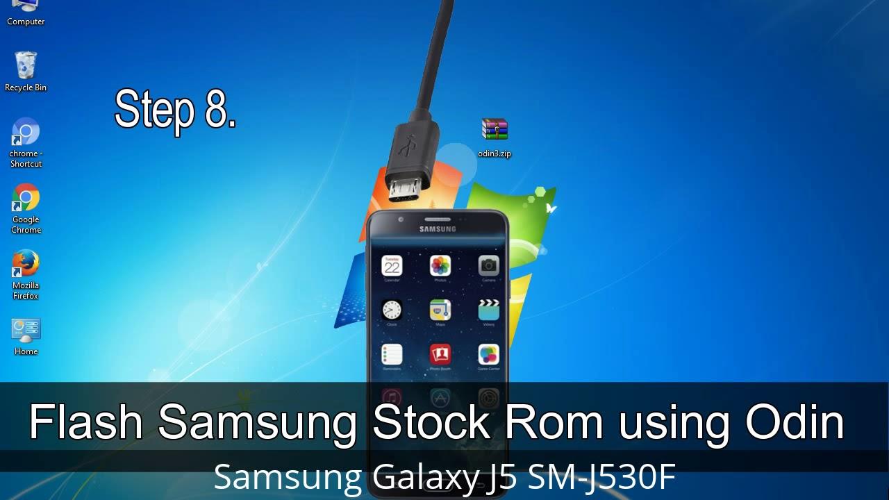 How to Samsung Galaxy J5 SM-J530F Firmware Update (Fix ROM)