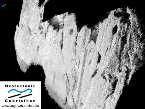 LiDAR data from the Kaparelli fault, Greece