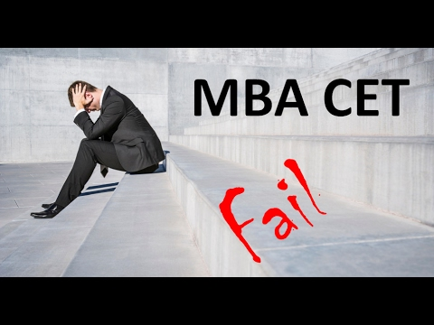 10 reasons why students fail MBA CET scoring less than 100 marks
