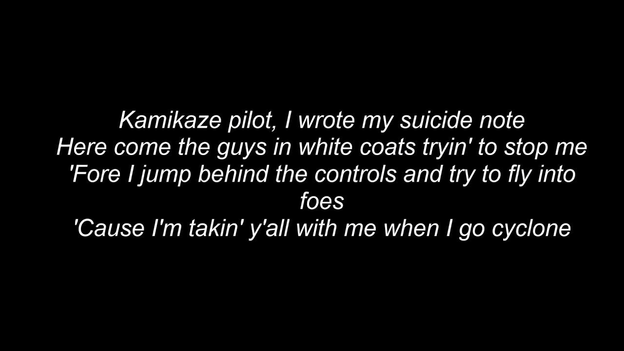 kamikaze eminem lyrics