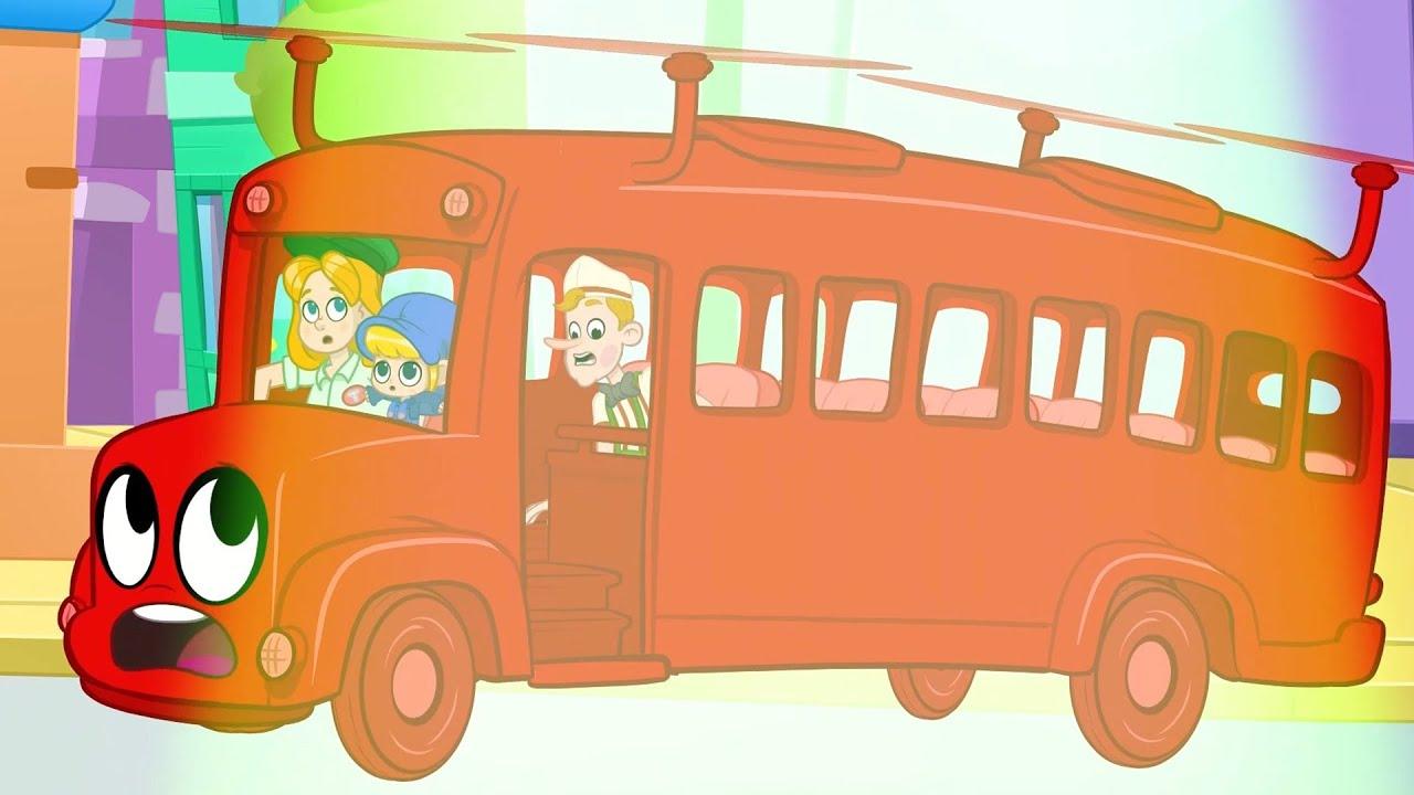 Bus Broke Down - My Magic Pet Morphle | Cartoons For Kids | Morphle's Magic Universe