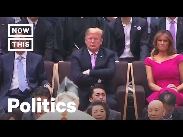 Trump Breaks Japanese Traditions During Memorial Day Trip | NowThis