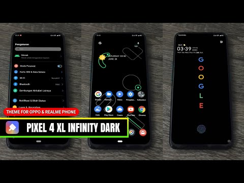 TEMA PIXEL 4 XL INFINITY DARK FOR OPPO AND REALME