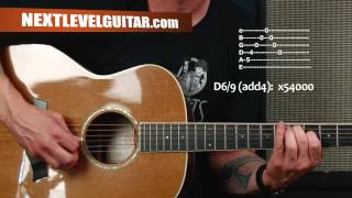 Acoustic guitar lesson learn to arpeggiate chords Black Veil Brides inspired Saviour style music