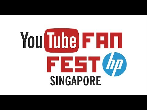 YouTube FanFest with HP Singapore 2014 - Sunday May 25 @ 3pm