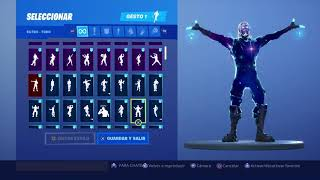 Skin Galaxy Dancing 136 Fortnite Gestures
