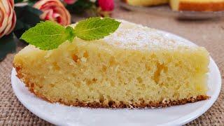 Пирог ванильно - лимонный. Быстрое лакомство к чаю