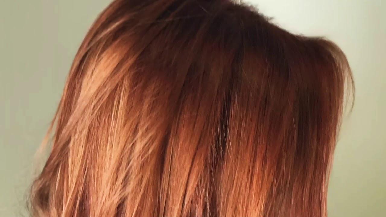 Metallic Color Hair Bronze Youtube