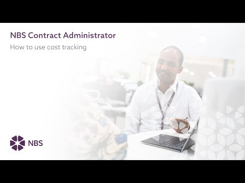 How to track the costs of your instruction items in NBS Contract Administrator