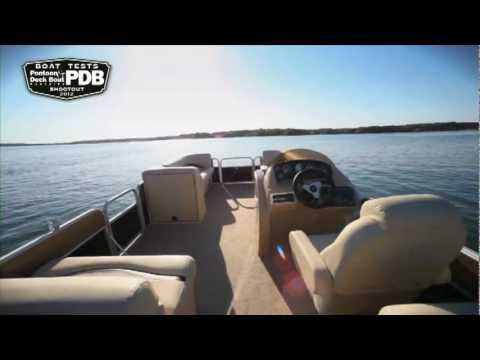 Pontoon and Deck Boat Reviews a Sweetwater 220 SL