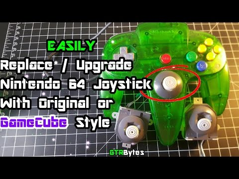 How To Replace / Upgrade N64 Joystick