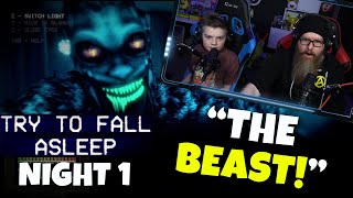 THIS GAME IS TERRIFYING! - Try To Fall Asleep (Night 1)