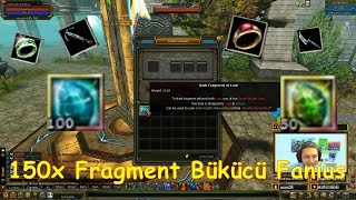 Knight Online Son Fragment Bükücü Fanius 100x Lust 50x Gluttony Dark Fragment