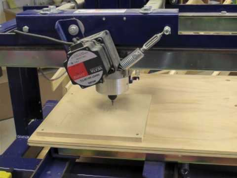 Shopbot Cnc System In Action Youtube