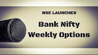 BANK NIFTY Weekly OPTIONS STRATEGY