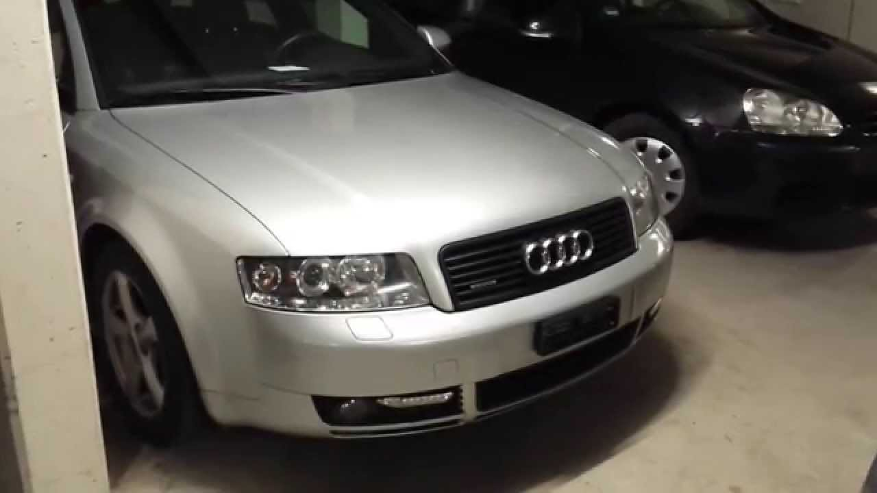 audi a4 b6 coming home leaving home