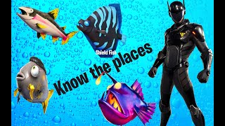 ***NEW RAREST FISH*** in Fortnite (KNOW ALL LOCATION)